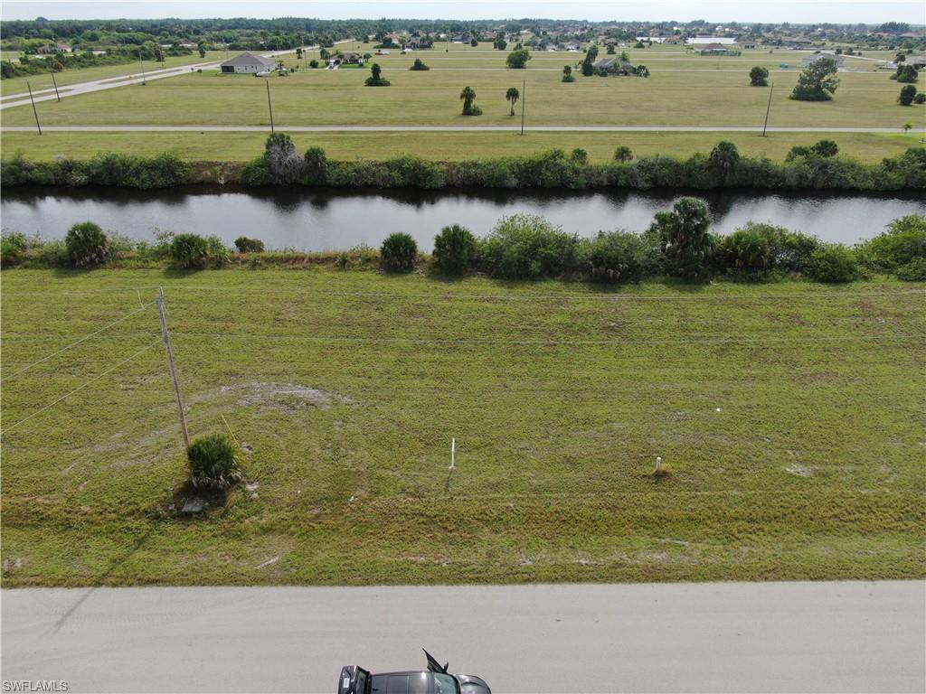 An aerial view of a vacant parcel of land located at 4102 NW 39th Ln